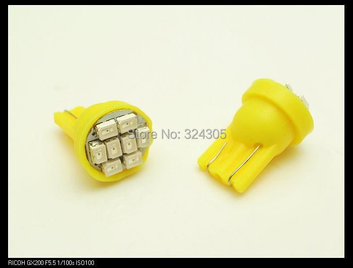 10 pcs/lot T10 Led 3020/ 1206 SMD 8SMD 8 led Bright LED LIGHT BULBS 194 2825 921 168 175 W5W Super bright Auto Car light - store