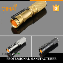 New 2015 High quality 3 Colors lantern Torch light mini LED Flashlight Strong Lumens Zoomable Penlight Lanterna[2016](China (Mainland))