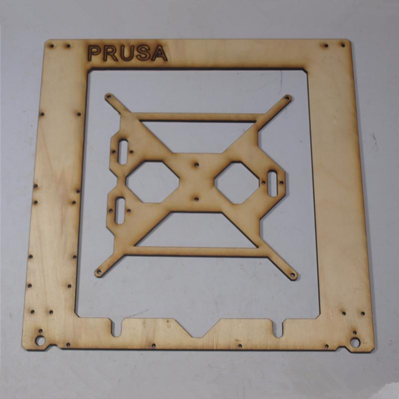 Prusa i3 Rework 3D printer laser cut single frame kit RepRap Prusa i3 wooden Single Sheet