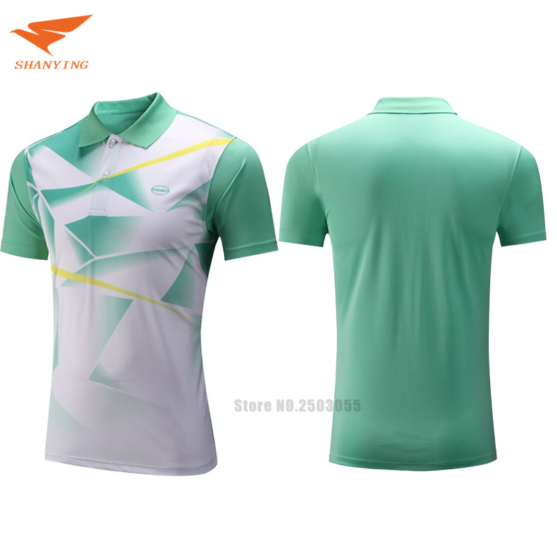 2017/18 new arrival hot sale men badminton shirt table tennis polo T shirts 3 colors tennis clothes sport jerseys for male(China (Mainland))