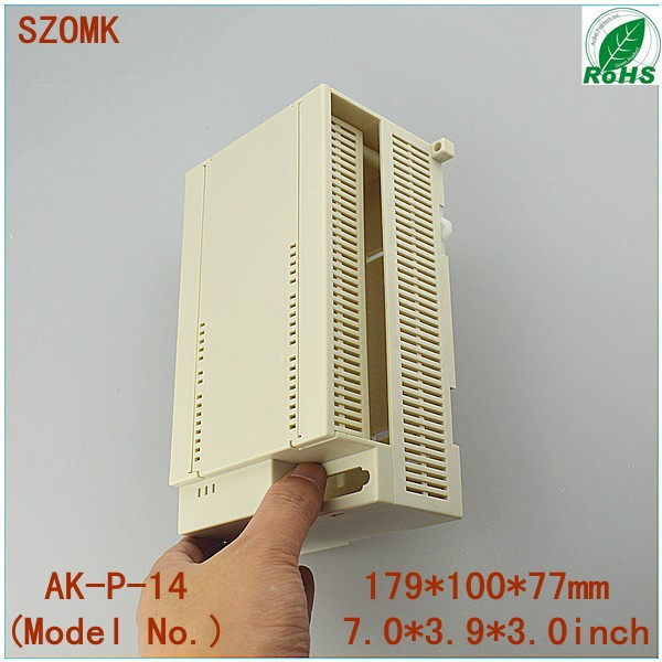 4 pieces a lot  PLC enclosures for electronics 179*100*77mm 7*3.9*3inch<br><br>Aliexpress