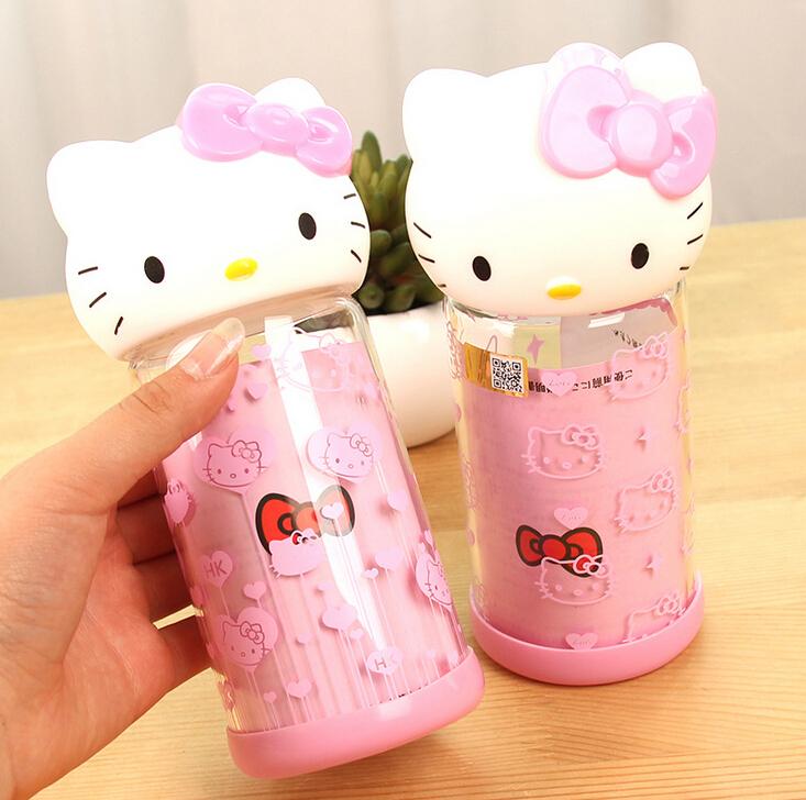 Потребительские товары Cartoon glass bottle 400 Cute FOD потребительские товары kathy 16 400
