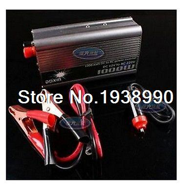 NEW 1000W Car 12v DC in 220v AC out Power Inverter USB Best(China (Mainland))