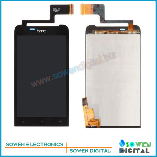 for HTC One V T320e G24 LCD display screen with touch screen digitizer assembly full sets,  new