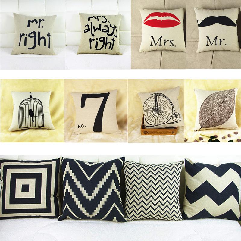 Decorative Throw Pillow Case