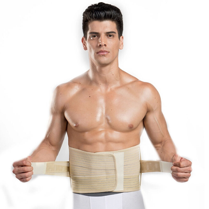 Lumbar Support Belt Back Braces Four Steels Breathable Waist Treatment of Lumbar Disc Herniation Lumber Muscle Strain(China (Mainland))