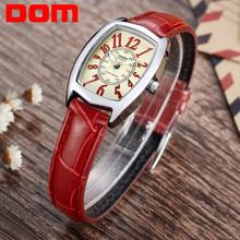 DOM luxury brand waterproof style watch quartz leather women reloj de las mujeres watch women