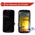 LCD Display Touch Digitizer Assembly with frame For Motorola for MOTO G2 G 1 XT1063 XT1068
