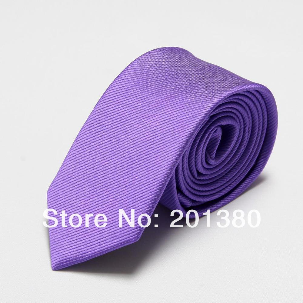 retail Microfiber men ties novelty mens neck tie one piece neckties cravat 19colors choose fashion ascot solid color - No.01 Store store