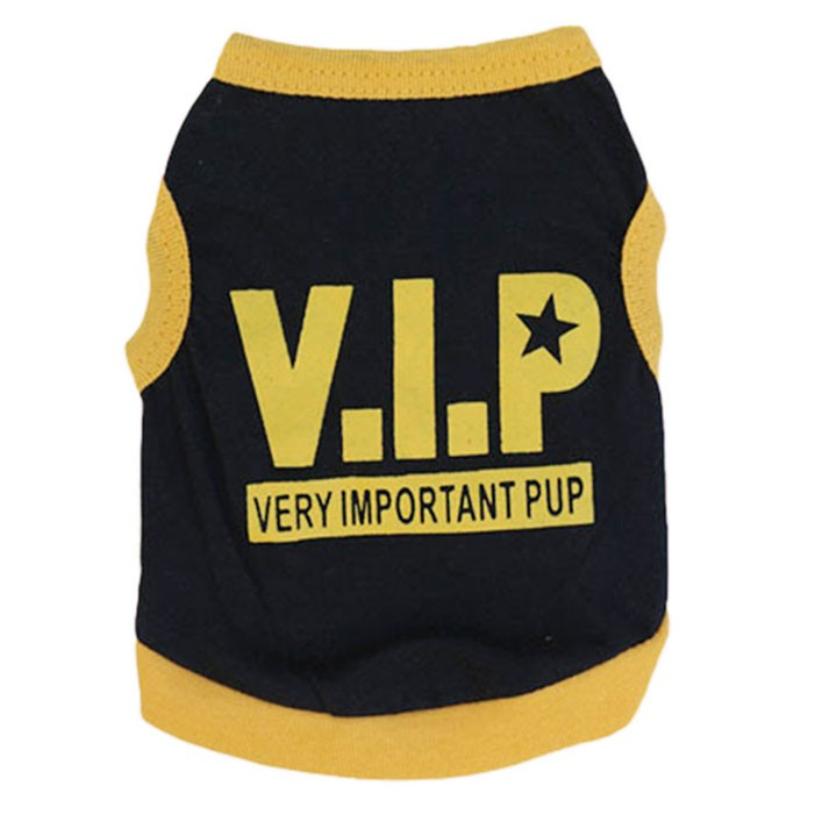 Handsome New Design Cute Pet Puppy Dog Print VIP T-shirt Sport Ball Uniform Costumes Apparel Summer Comfortable Clothes Dog(China (Mainland))