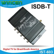 Car ISDB-T digital TV receiver  for Brazil and South America Market(China (Mainland))