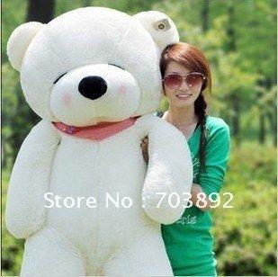 "120CM GIANT HUGE BIG SOFT PLUSH SLEEPY TEDDY BEAR 47""(China (Mainland))"