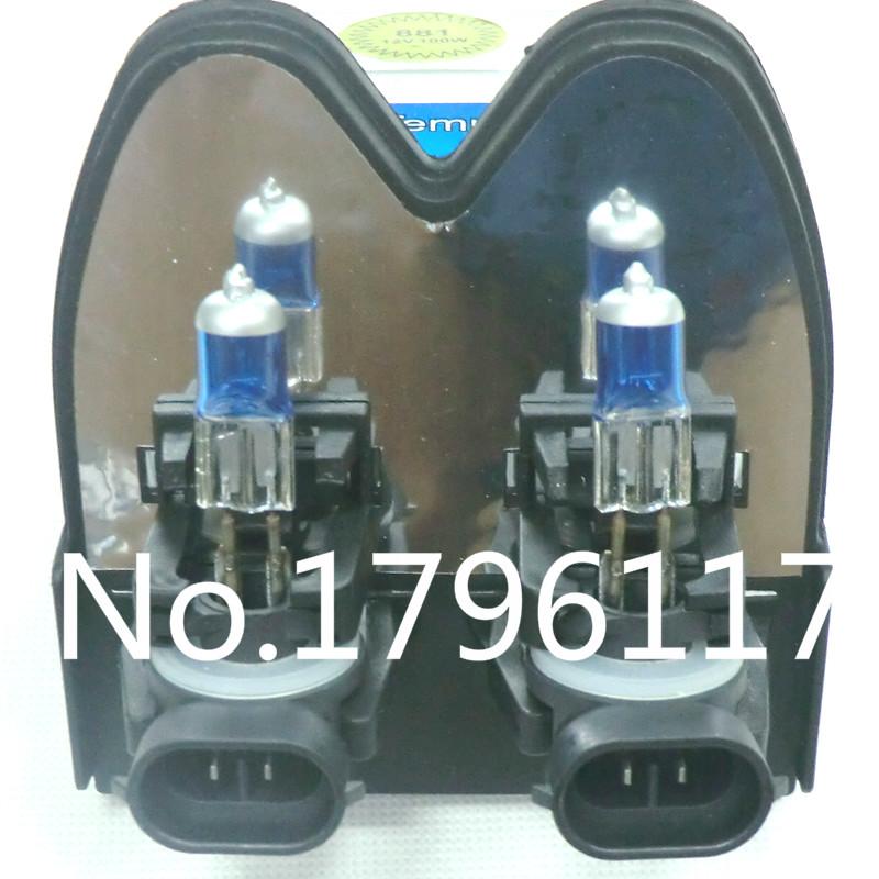 20pcs 881 894 H27 Xenon HID Halogen Bulbs 100W 6000K super white Headlights fog lamps day light running parking Car Light Source