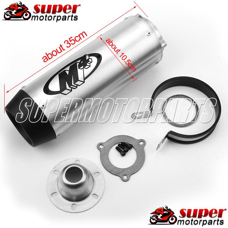 Motorcycle M4 Modified Exhaust Pipe For Honda VTEC CB400 CBR250 CBR400 CBR600 F4I <br><br>Aliexpress
