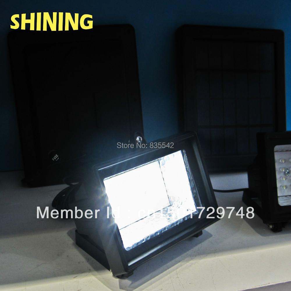 30 LED Solar Flood Light, Spot Light With Super Bright LED, Garden Light, Wall Or Ground Mounted ...