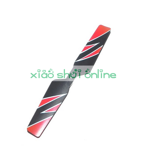 2pcs Free Shipping wl toys wltoys v912 2.4g 4ch remote control RC helicopter gyro RTF spare parts tail blade(China (Mainland))