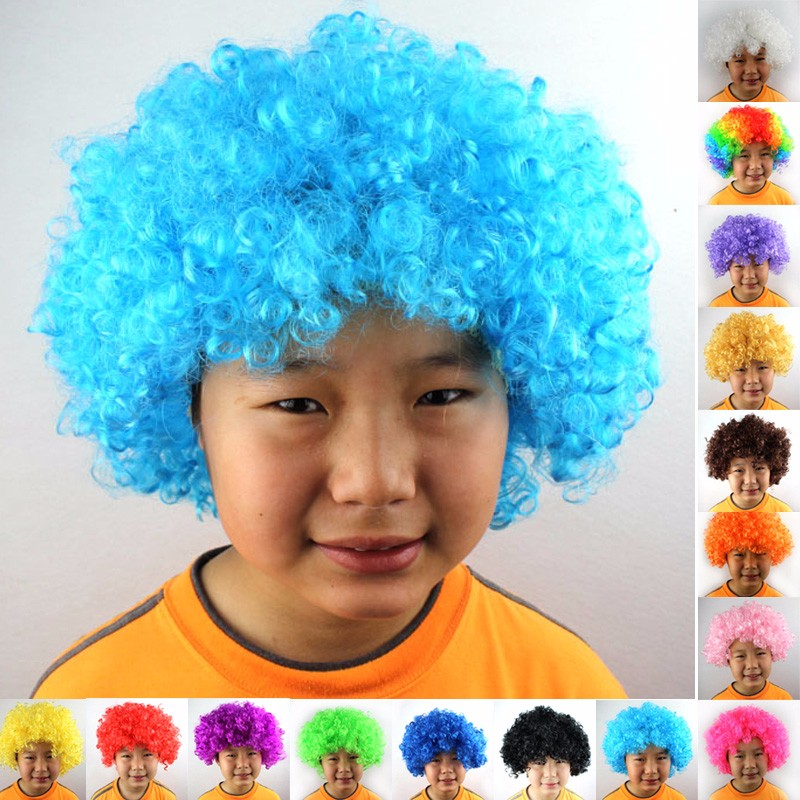 Afro Clown Wig  (25)