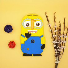 3D Cartoon Minions Soft Silicone Case Despicable Yellow Cover LG K7 Q7 LTE X210 MS330 LS675 M1 Tribute 5 K 7 - Here Have A Store store