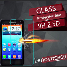 0.3mm 9H 2.5D Explosion-Proof Anti-Friction/Scratch Tempered Glass Screen Protector Guard Film For Lenovo S660 - In Stock