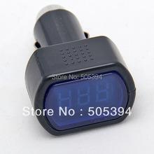 Digital LCD Cigarette Lighter Voltage Panel Meter Monitor Car Volt Voltmeter Wholesale(China (Mainland))