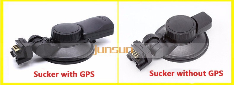 Sunty 1080P Full HD dashcam 2,7 inch met WDR en GPS
