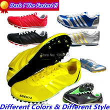outdoor sport breathable long race sprint spikes light running shoes men trainers brand low top track field athletic shoes19d88(China (Mainland))