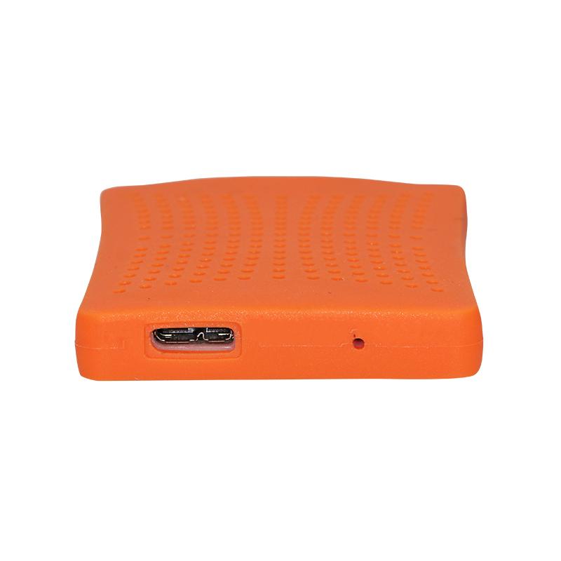 """2TB/1TB/750G/320G HDD Hard Disk Included Big Large Capacity 2.5"""" SATA USB 3.0 HDD Case SSD Enclosure Dual Using Caddy Blue/Orang(China (Mainland))"""