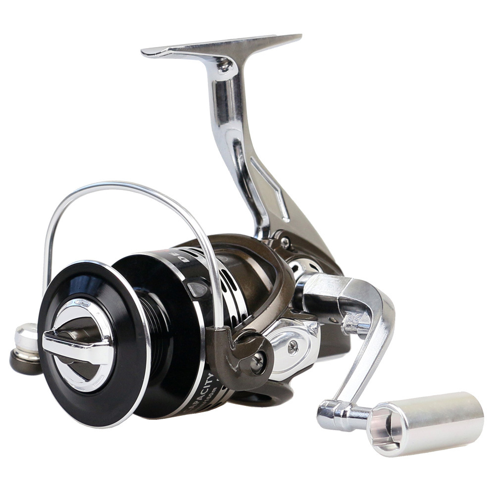 Free shipping bm2000 bm5000 10 1bb full metal spinning for Surf fishing reels