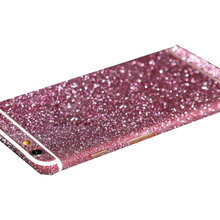 Luxury Glitter Shiny Sticker for iPhone 6 6s Matte SparklingBody Skin Films Phone Decor Colorful(China (Mainland))