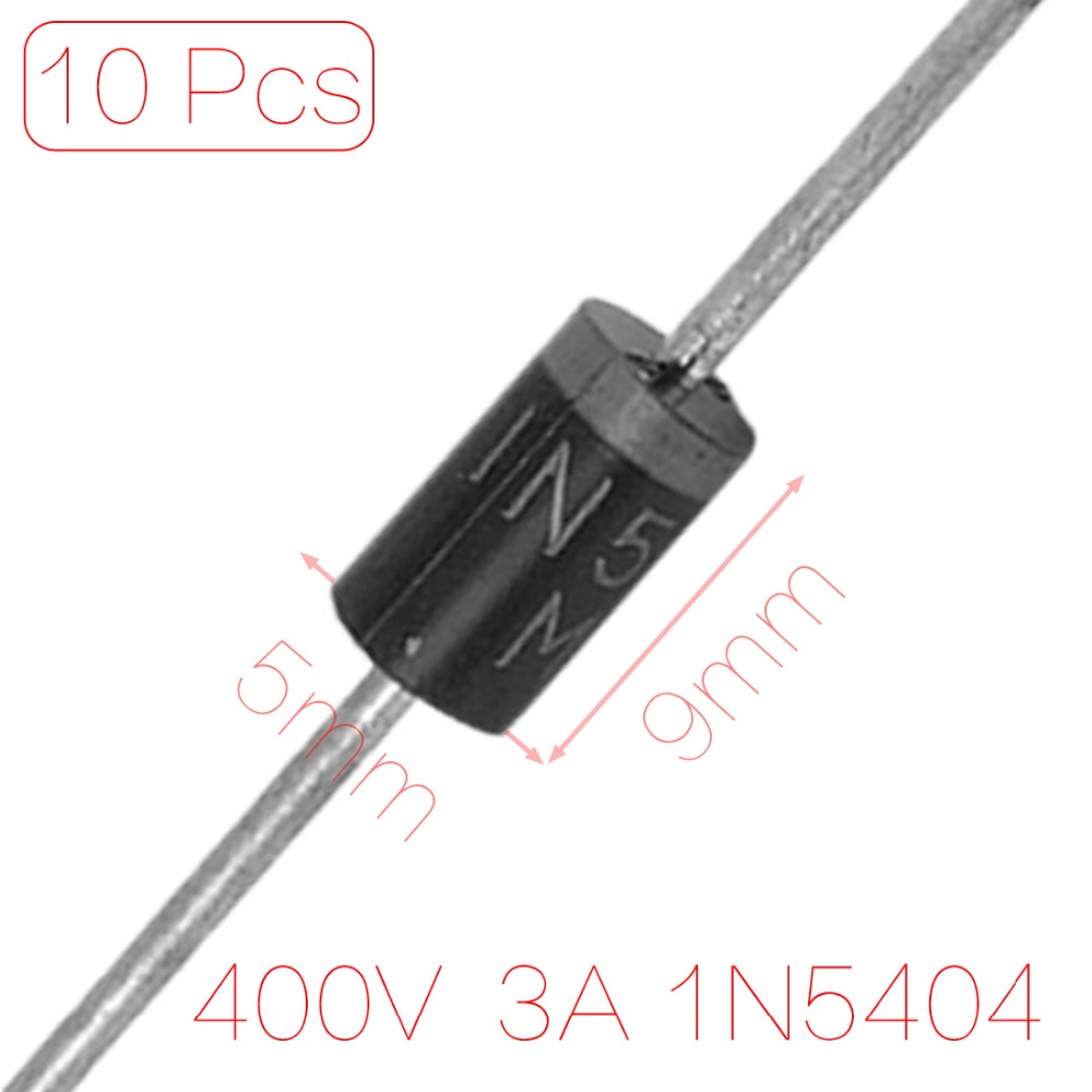 10 x 1N5404 400V 3A Axial Lead Silicon Rectifier Diodes Discount 70(China (Mainland))