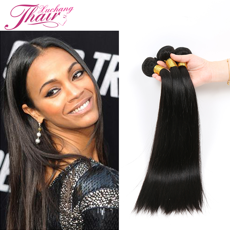 Grade 7a Cambodian Virgin Hair Straight 3 Bundles Straight Raw Cambodian Hair black 3 Bundle Deals Straight Hair Weave 8-28inch<br><br>Aliexpress