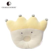 Brand cartoon princess crown nursing pillow for infant baby sleeping comfort toy soft cotton infant stroller pillows HK283(China (Mainland))