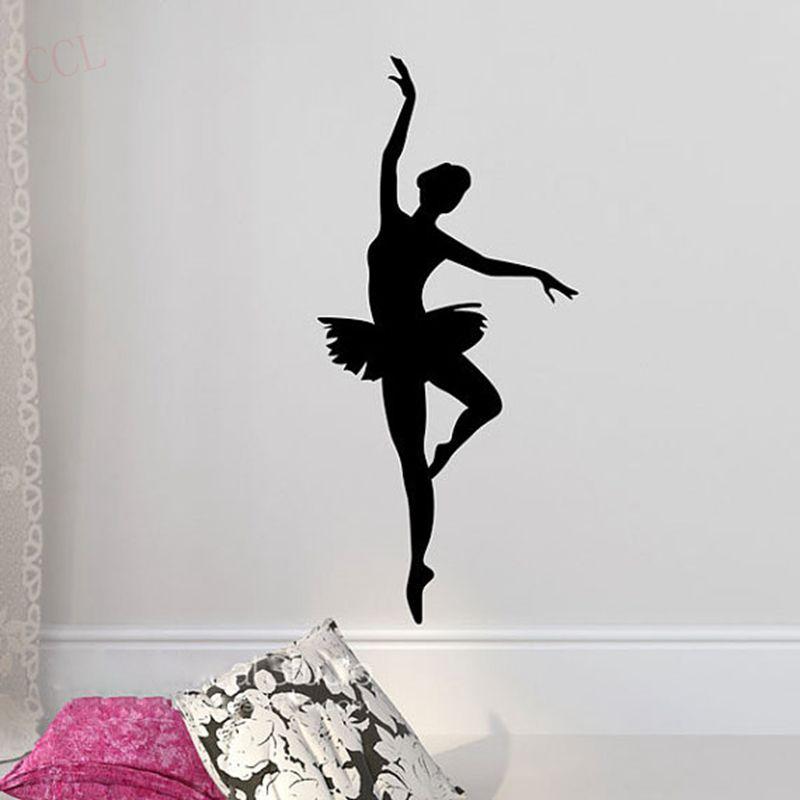 ballerina wall sticker ballet dancer wall decal ballerina