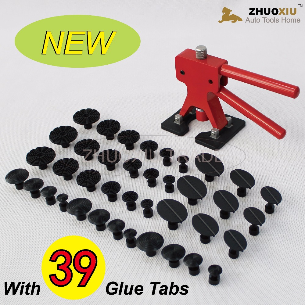 40pcs Paintless dent repair tools/dent lifter/glue puller/auto body dent repair PDR Tools PDR-226(China (Mainland))