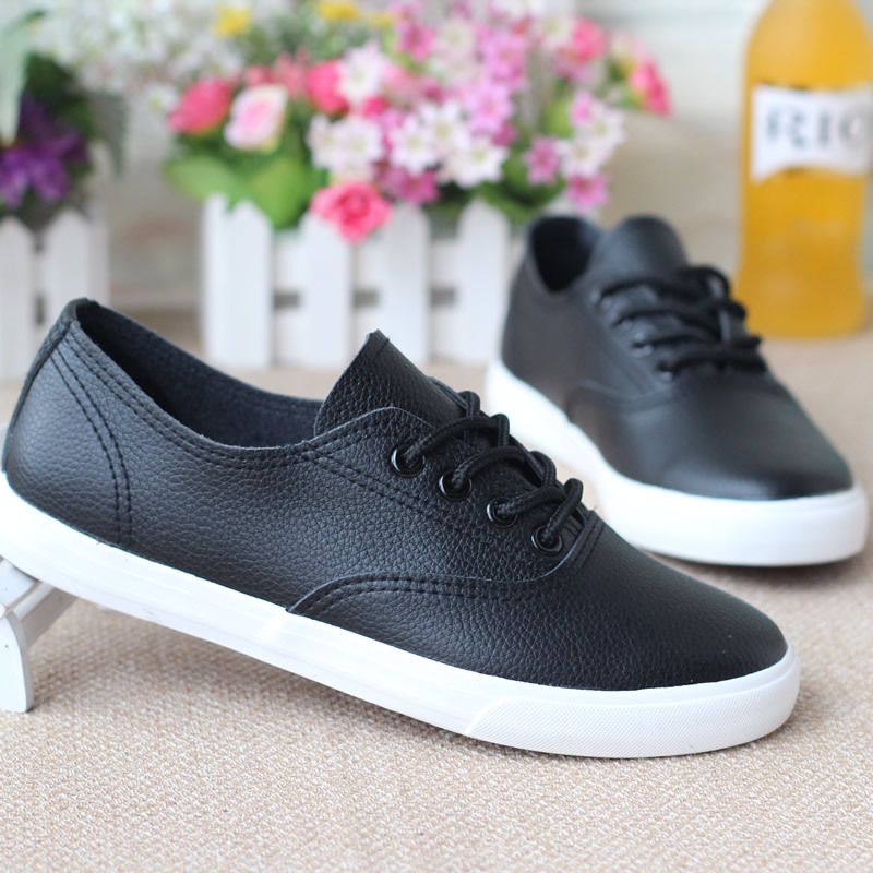 Keyconcept latest help low classic / lace shoes / 2016 Spring / flat white shoes / Korean student shoes / star style women shoes(China (Mainland))