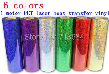 1 meter South Korea PET Laser heat transfer vinyl diy tshirt cutting plotter(China (Mainland))