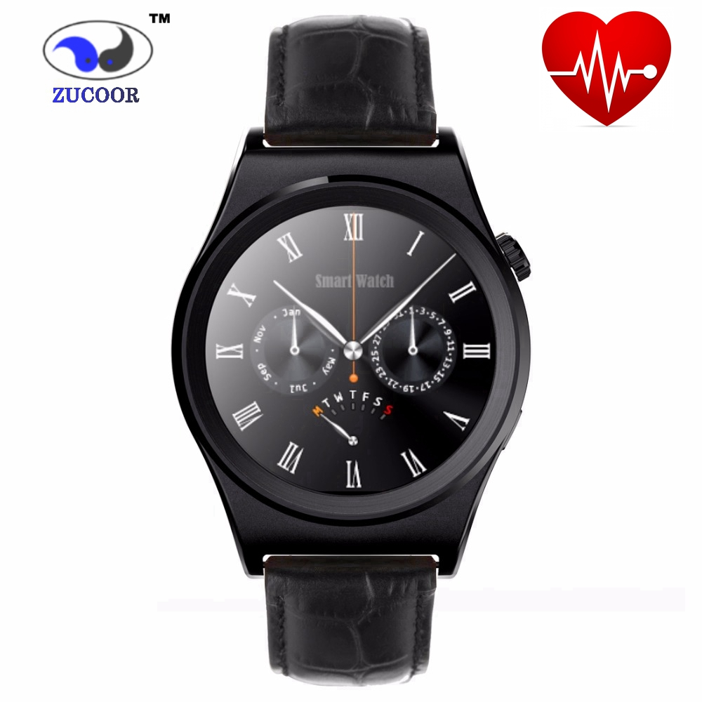 Smart Watch X10 Sports SmartWatch Heart Rate Monitor Fitness Tracker Gunine leather Mobile Wristwatch for Android IOS(China (Mainland))