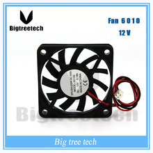 60x60x10mm 6010 DC Brushless Cooling Fan 12V DC electric exhaust fan 3D0022