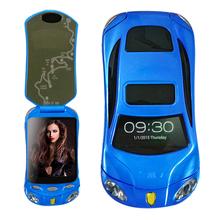 Newmind F16 Flip unlocked smart car phone dual sim card Android wifi recorder FM mp3 mp4 car model mini mobile phone P434(China (Mainland))