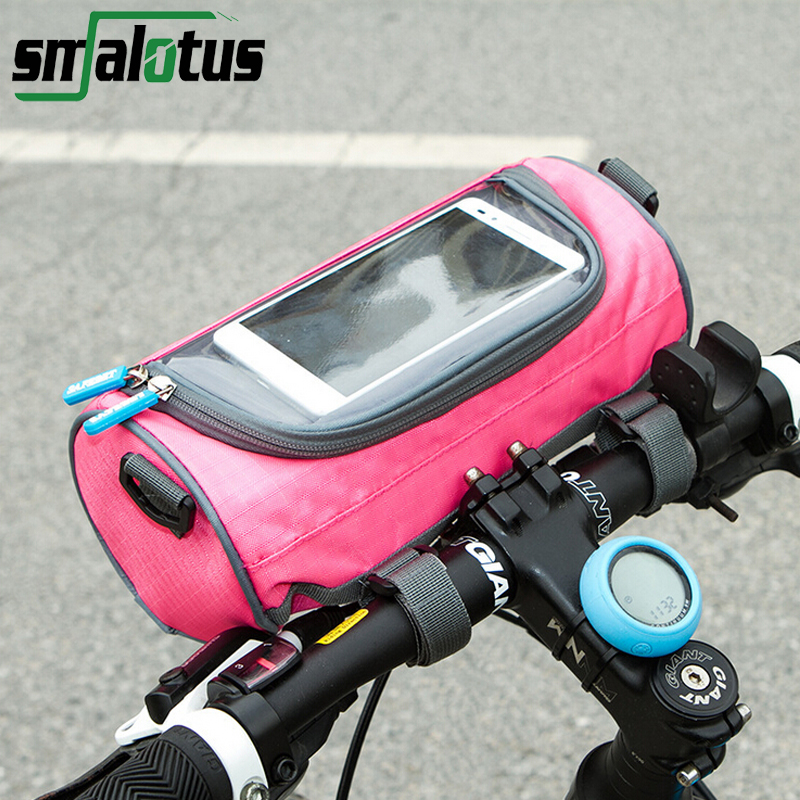 Multifunctional Bike Front Frame Bags Touch-screen Window Bicycle Bags Cycling Oral Pouch Messenger Riding Equipment Accessories(China (Mainland))