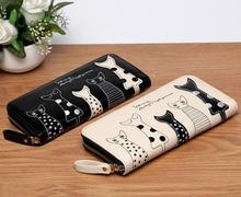 Funny Cats PU Leather Wallet