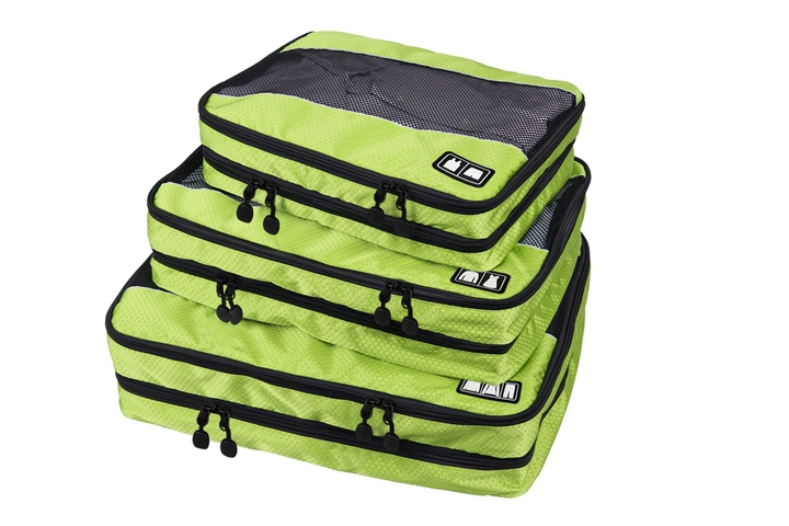 2015 New Packing Cube-3 Pc Set Women's And Men's Travel Bags Men's Double Layer Travel Suitcase Men Foldable Bags Big Capacity(China (Mainland))