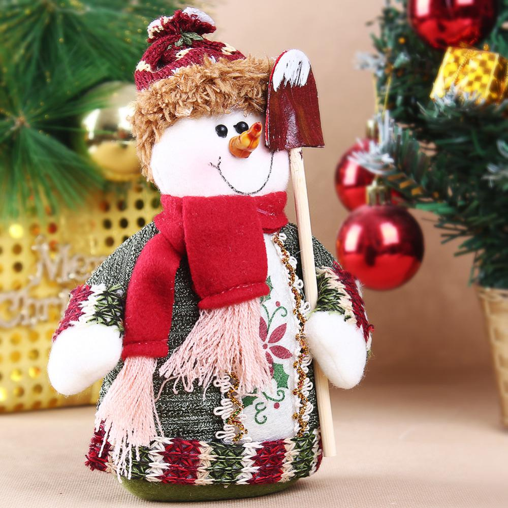 Гаджет  Table Ornament Snowman/ Moose/ Cute Santa Claus Design Indoor Christmas Standing Decoration Supplies Free Shipping None Дом и Сад