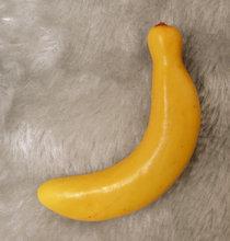 Simulation Mini Fruit Display cabinets Adornment Banana Model Wholesale  Free shipping(China (Mainland))