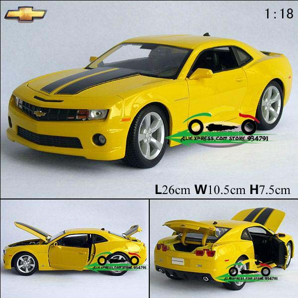 Free Shipping 1:18 Chevrolet Hornet Camaro Edition Alloy Model Car Toys Children Christmas Gift Car Decorate\Collect Simulation<br><br>Aliexpress