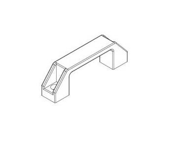Aluminum Profile Accessories Plastic Handle Length 137mm<br><br>Aliexpress