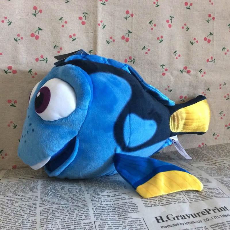 "Free Shipping Original 32cm=12.6"" Original Finding Nemo 2 Plush Toy Dory Fish Stuffed Animal Soft Doll for baby gift(China (Mainland))"