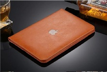 Luxury Leather Case For Apple iPad 2 cover for iPad 3 Protective case for iPad 4 for ipad 2/3/4 9.7inch free shipping(China (Mainland))