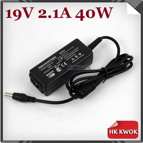 By DHL/EMS 50pcs 19V 2.1A 40W AC Power Adapter Charger For samsung Q1 Q30 Q35 Q40 Q45 Q70 Q1B Q1P Q1U Q1UP R19 R20 AD-6019(China (Mainland))