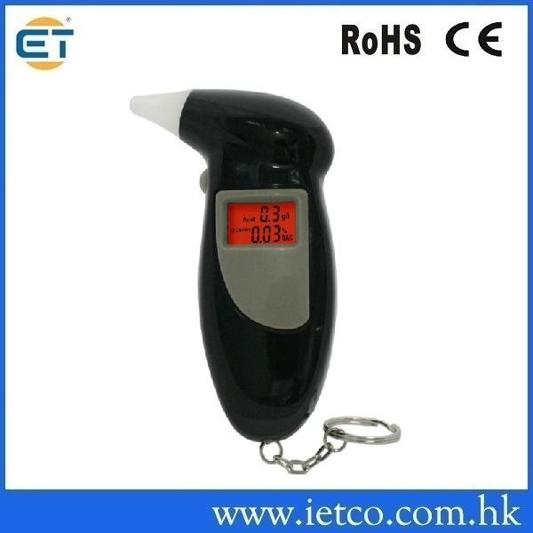 Breathalyzer with Mouthpieces Time Mini alcohol tester